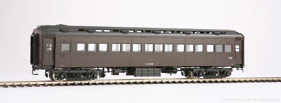 Oスケール オハ31-客車