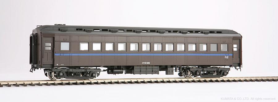 Oスケール オロ31-客車