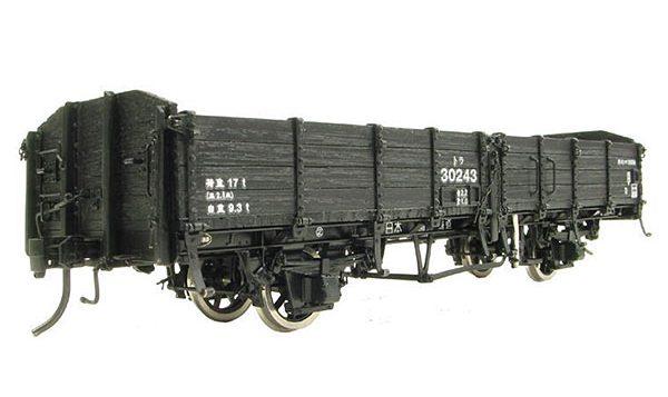 国鉄 トラ30000 木造無蓋車