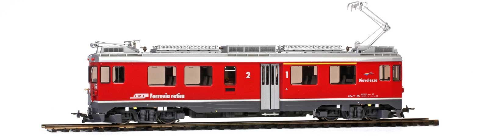 BEMO Bernina 1269 115 RhB ABe 4/4 55 'Diavolezza' Berninatriebwagen ¥44,700