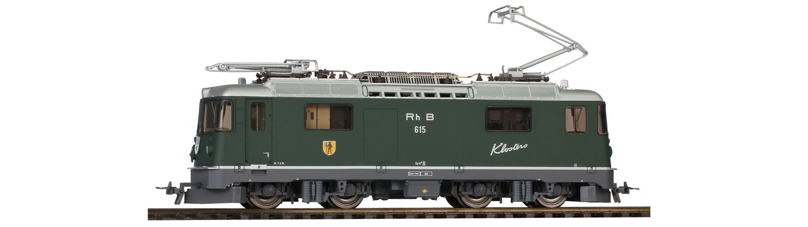 "#1258 115 RhB Ge 4/4 Ⅱ 615 ""Klosters""green ¥44,990(税込)"