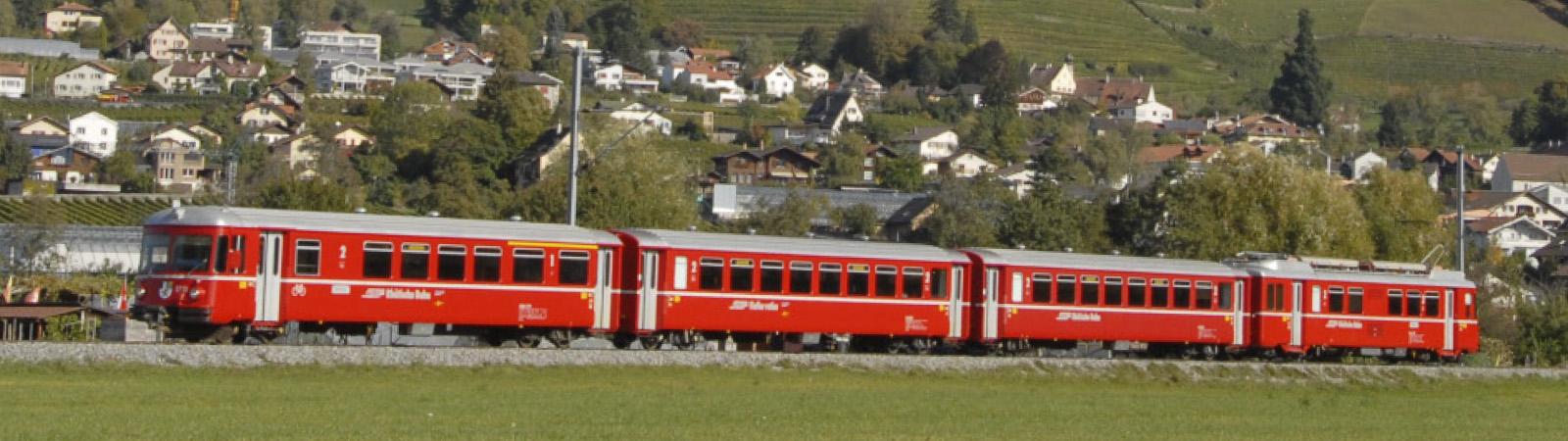 #7243 156  RhB Be 4/4 516/ABDt 1711 Shuttle train (2021年秋発売予定)